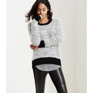 Lou & Grey Eyelash Knit Sweater